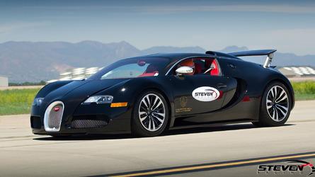 Watch a 13-year old go 202 mph in a Bugatti Veyron