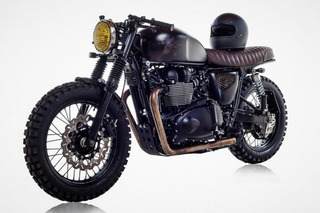 Check out This Custom Triumph Made for David Beckham