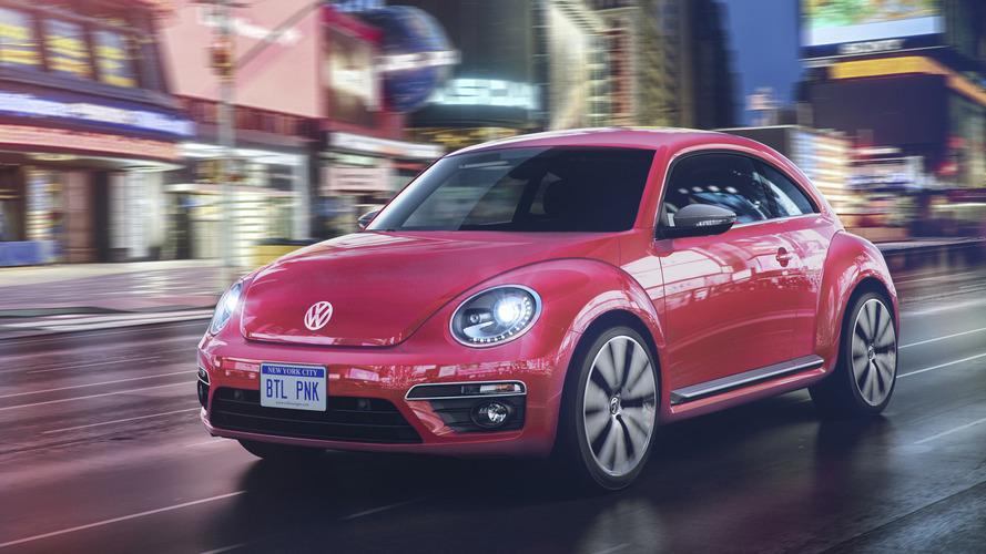 2017 Volkswagen Beetle adds #Pinkbeetle special edition
