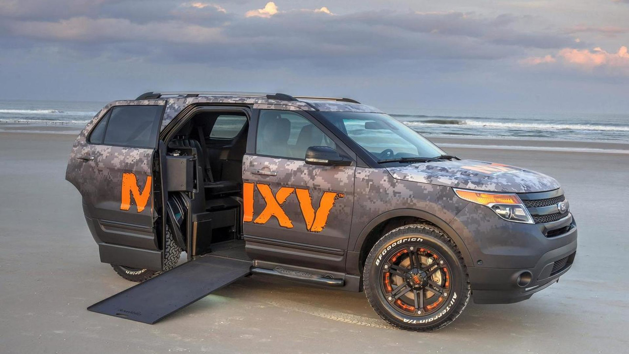 BraunAbility MXV concept