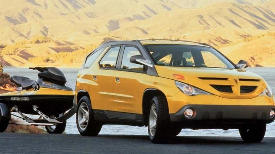 Pontiac Aztek returns to claim ugliest car in the world title [video]