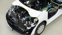 PSA Peugeot Citroën Hybrid Air powertrain