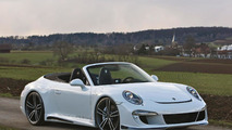 Porsche 911 Carrera S Convertible by Gemballa showcased in videos