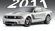 Roush Announces 2011 Mustang Lineup