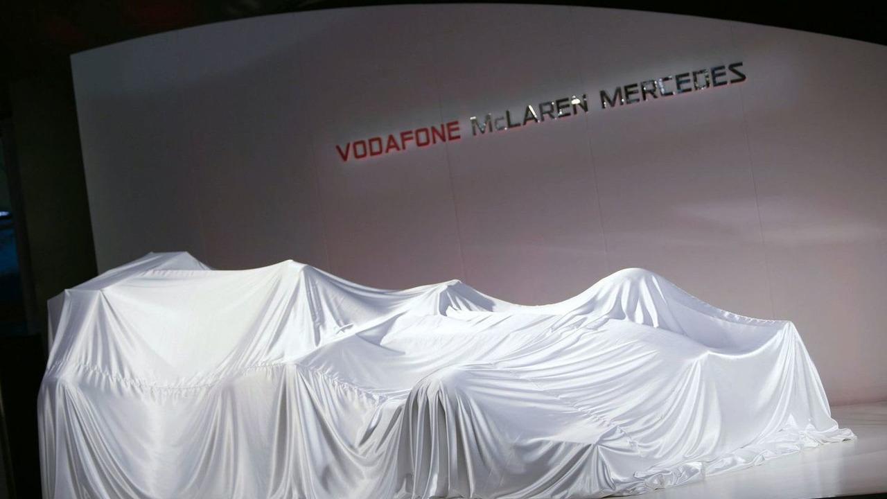 Vodafone Mclaren Mercedes MP4-25 Launch, Vodafone UK HQ, Newbury, England, 29.01.2010