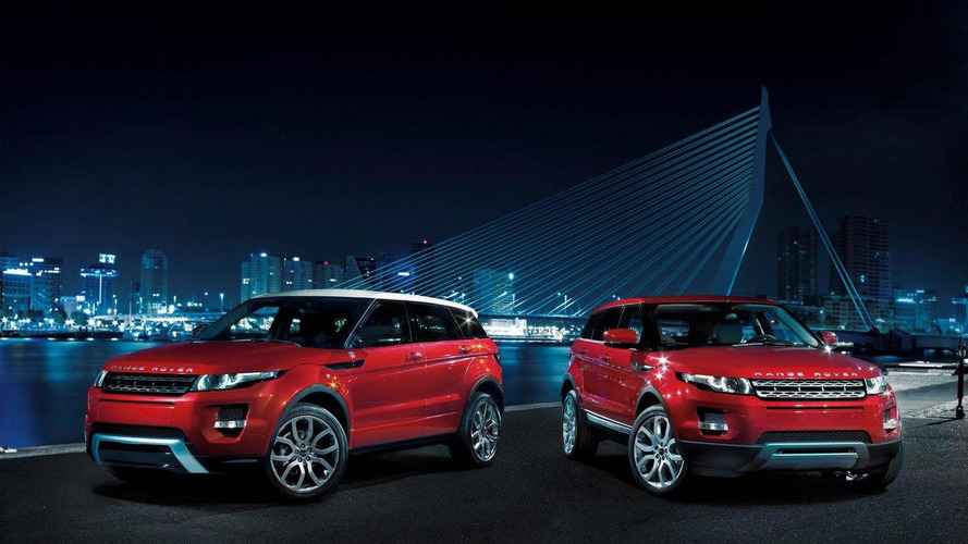 Range Rover Evoque U.S. pricing details