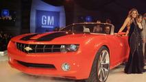 Chevrolet Camaro Cabrio at GM's Celeb Parade