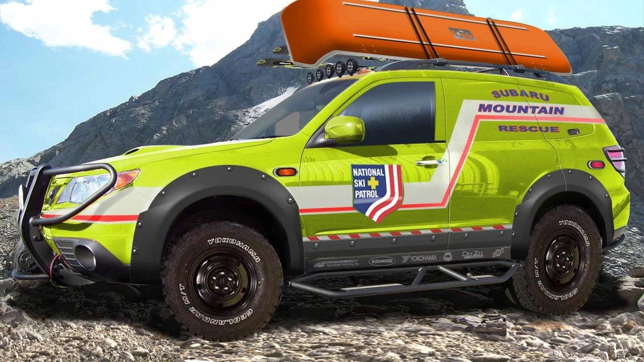 Subaru Forester Mountain Rescue Concept