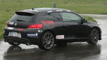 VW Scirocco R20T Battling the Rain