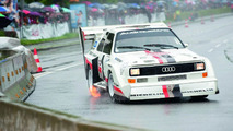 Audi Sport Quattro replica at Isle of Man [video]
