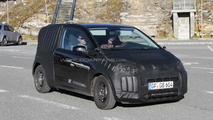 Volkwagen Up first spy shots from Europe