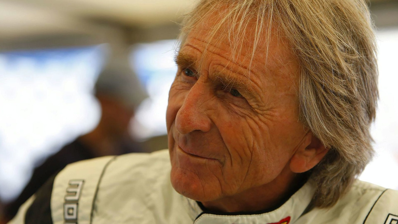 Derek Bell with Bentley Continental Supersports at Goodwood FOS 2009