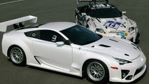 Lexus LFA hits the track with Alex Wurz [video]