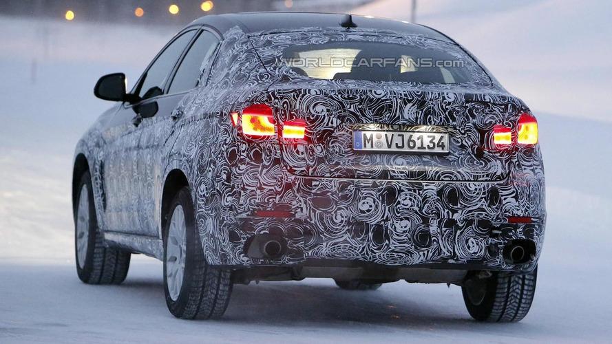 2015 BMW X6 spied near the Arctic Circle