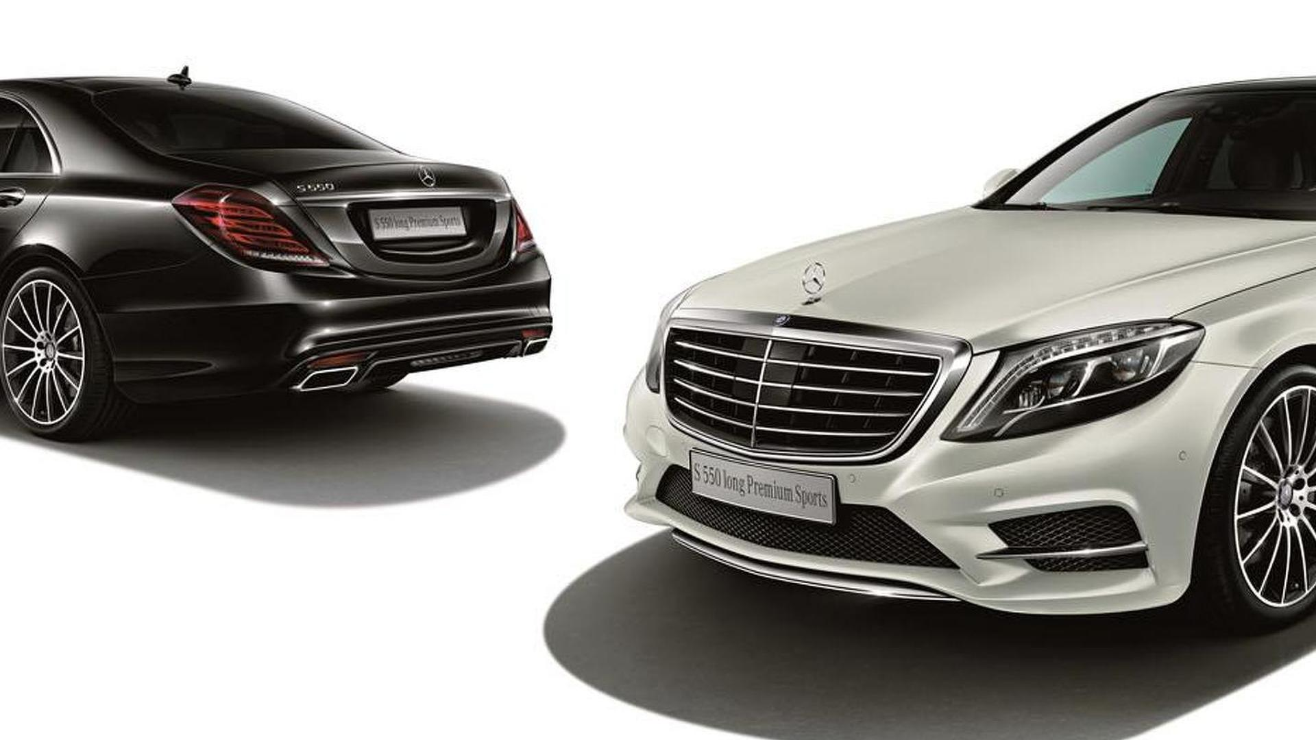 Mercedes S550 Premium Sports edition unveiled in Japan