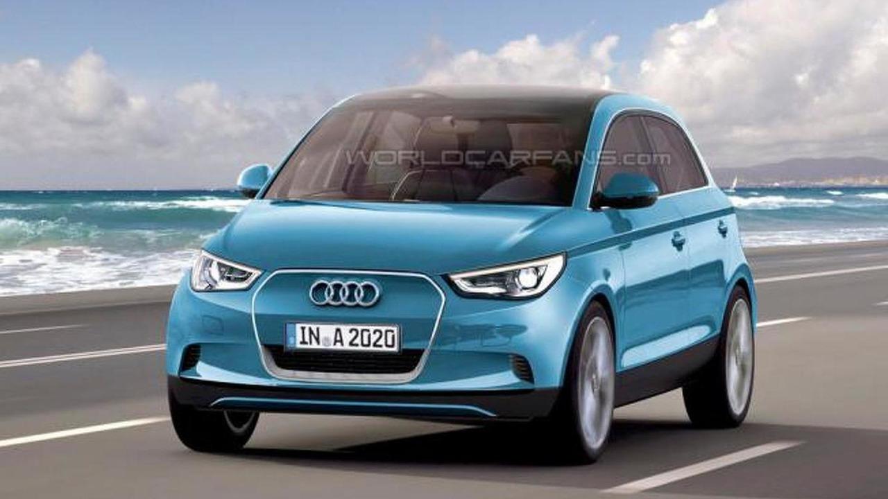 2015 Audi A2 speculative rendering, 950, 15.08.2012