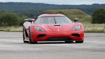 Koenigsegg Agera R world record run, 500, 02.09.2011