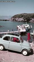 Fiat 500 in Liguria