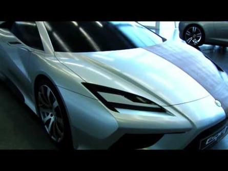 Lotus Esprit Concept Video