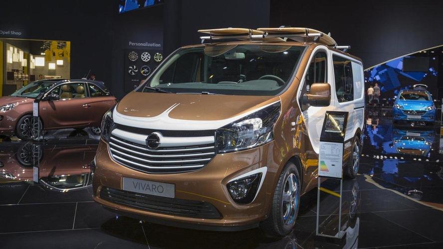 Opel Vivaro Surf concept arrives in Frankfurt