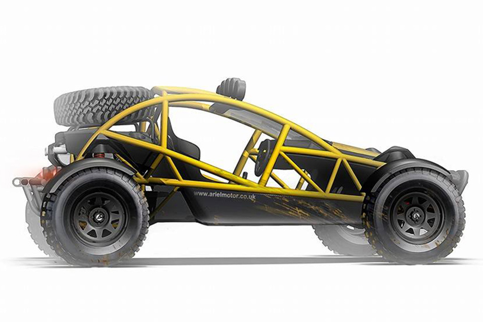 Ariel Gets Off-Roady With this 200HP Nomad