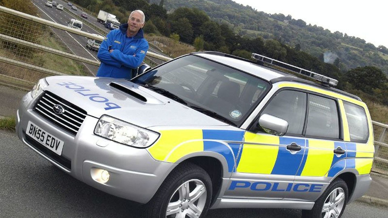 Subaru Forester UK Police Vehicle