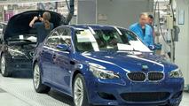 BMW M5 finish