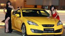Hyundai Genesis Coupe Market Launch in Korea