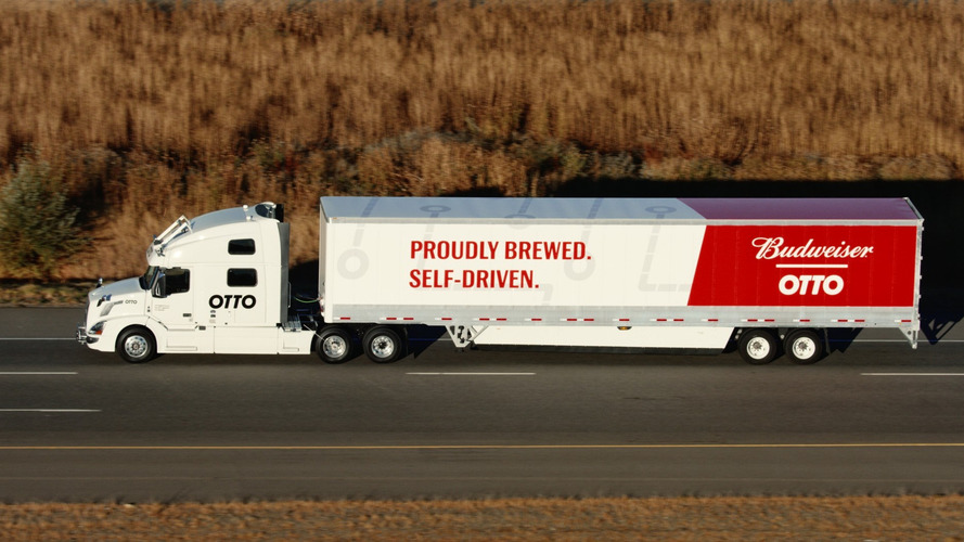 First autonomous beer run with self-driving delivery truck