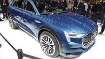 Audi e-tron quattro concept in Frankfurt 2015