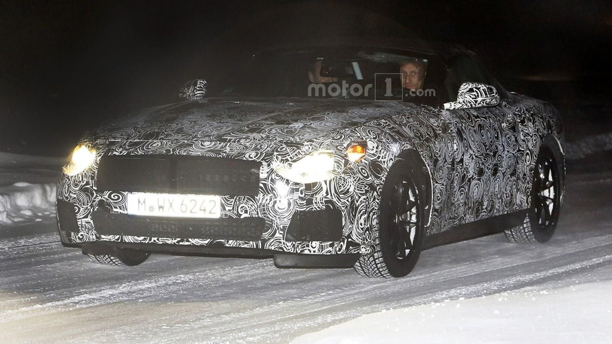 BMW Z5 spied for the first time