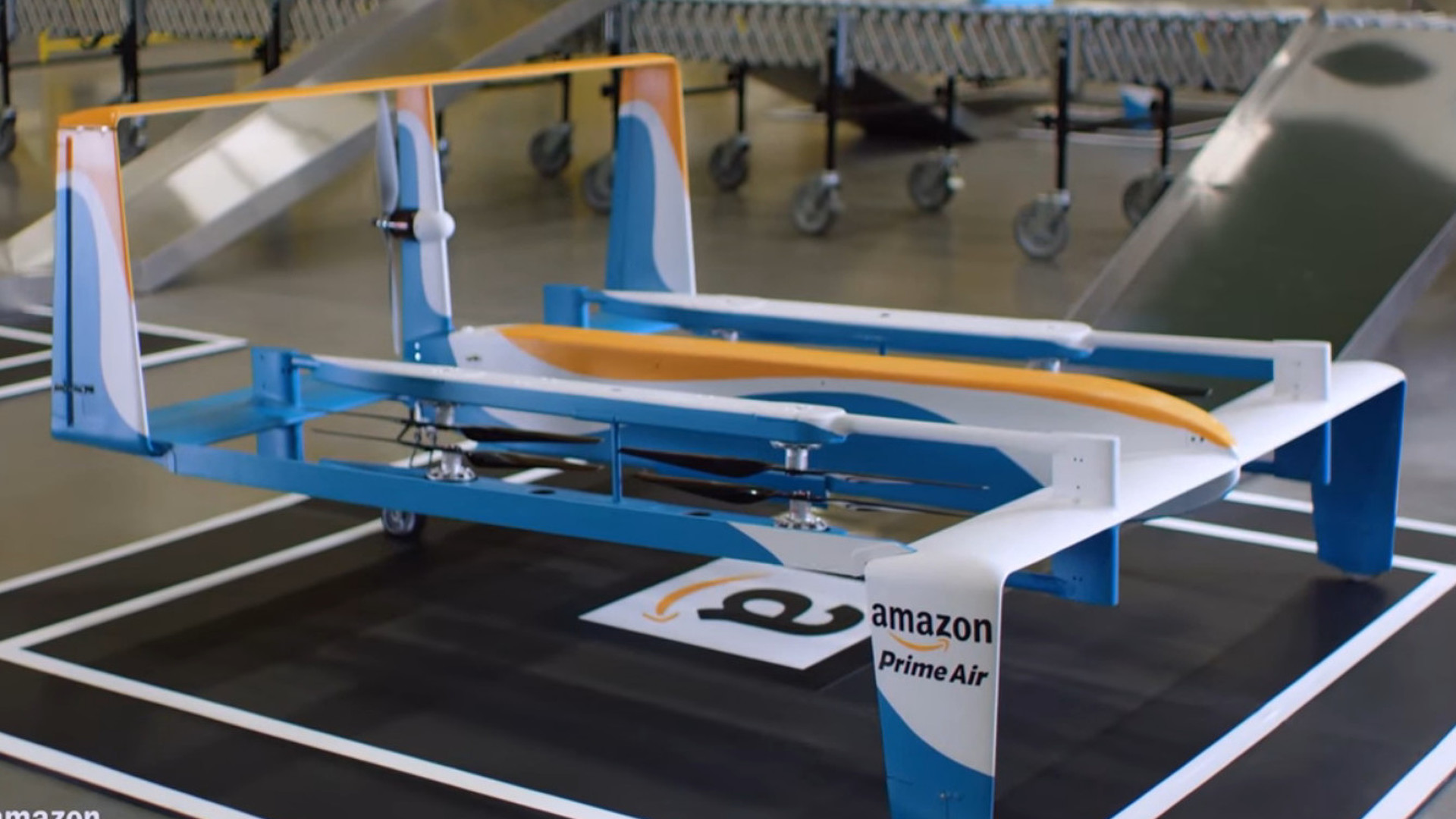 Jeremy Clarkson returns in a new spot for Amazon Prime Air