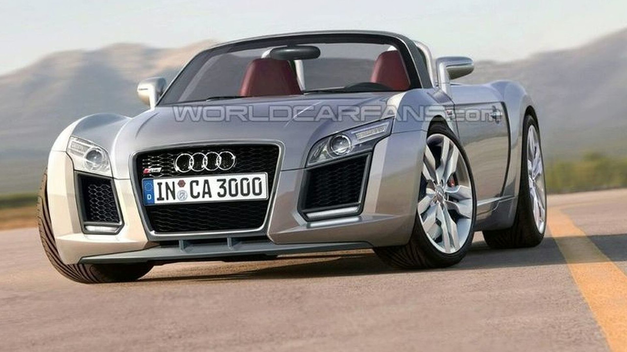 Mid-Engined Audi R3 Artists Rendering