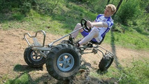 First 4WD Pedal Powered Kart for the Trail