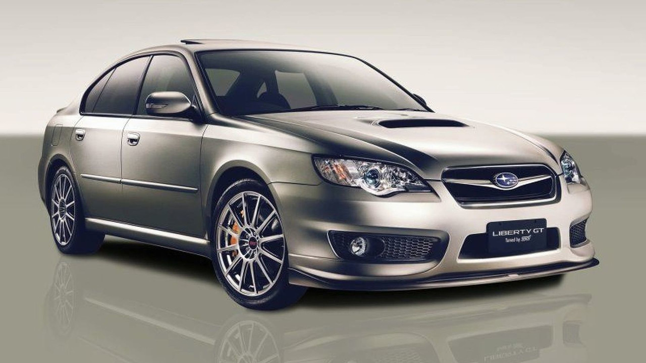 Subaru Liberty GT Tuned by STI MY 2007