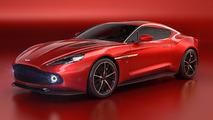 Aston Martin Vanquish Zagato concept bows at Villa d'Este