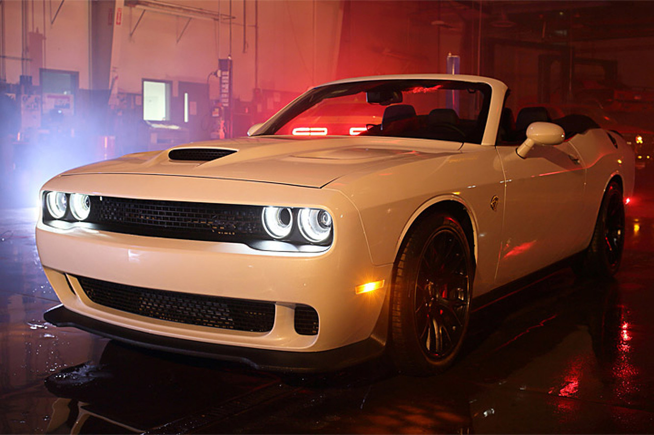 World's Only Challenger Hellcat Convertible Costs $140,000