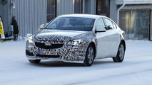 2014 Opel Insignia facelift spy photo 24.1.2013