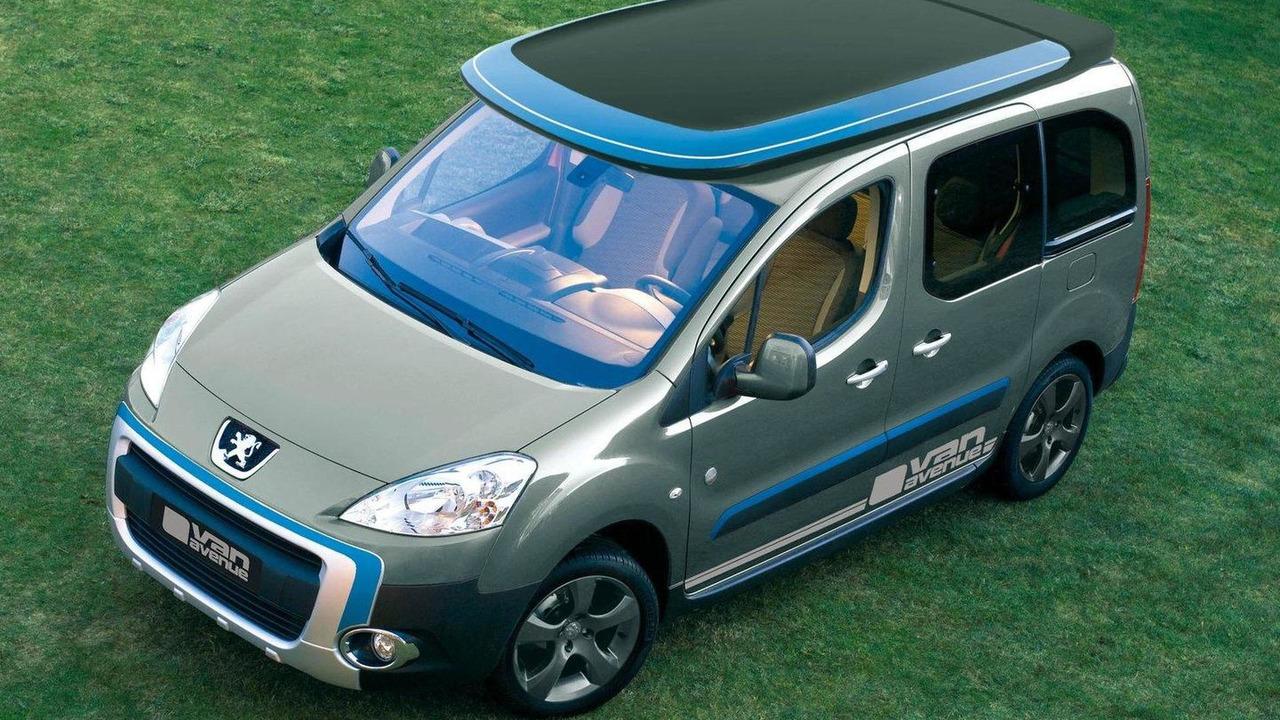 Peugeot Partner 'Urban Activity' vehicle by Irmscher 15.02.2012