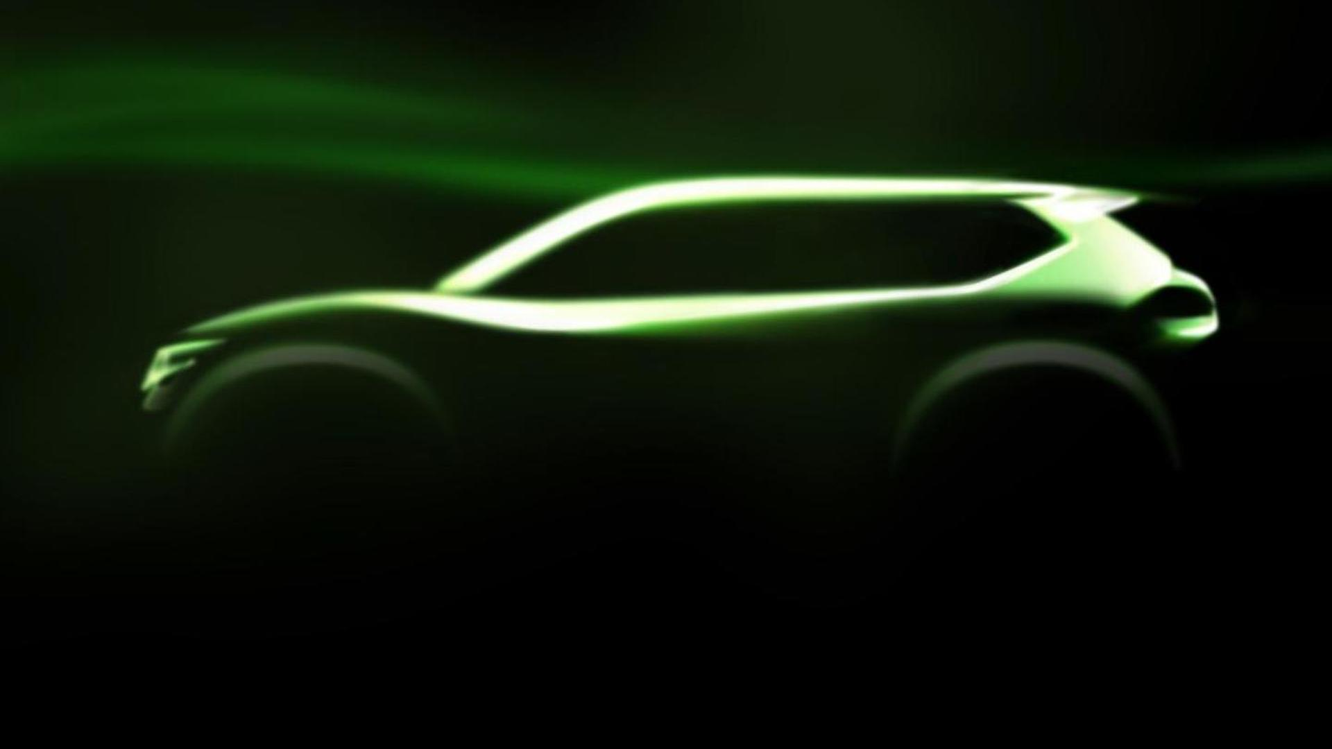 Nissan Hi-Cross Concept teased - previews new X-Trail [video]