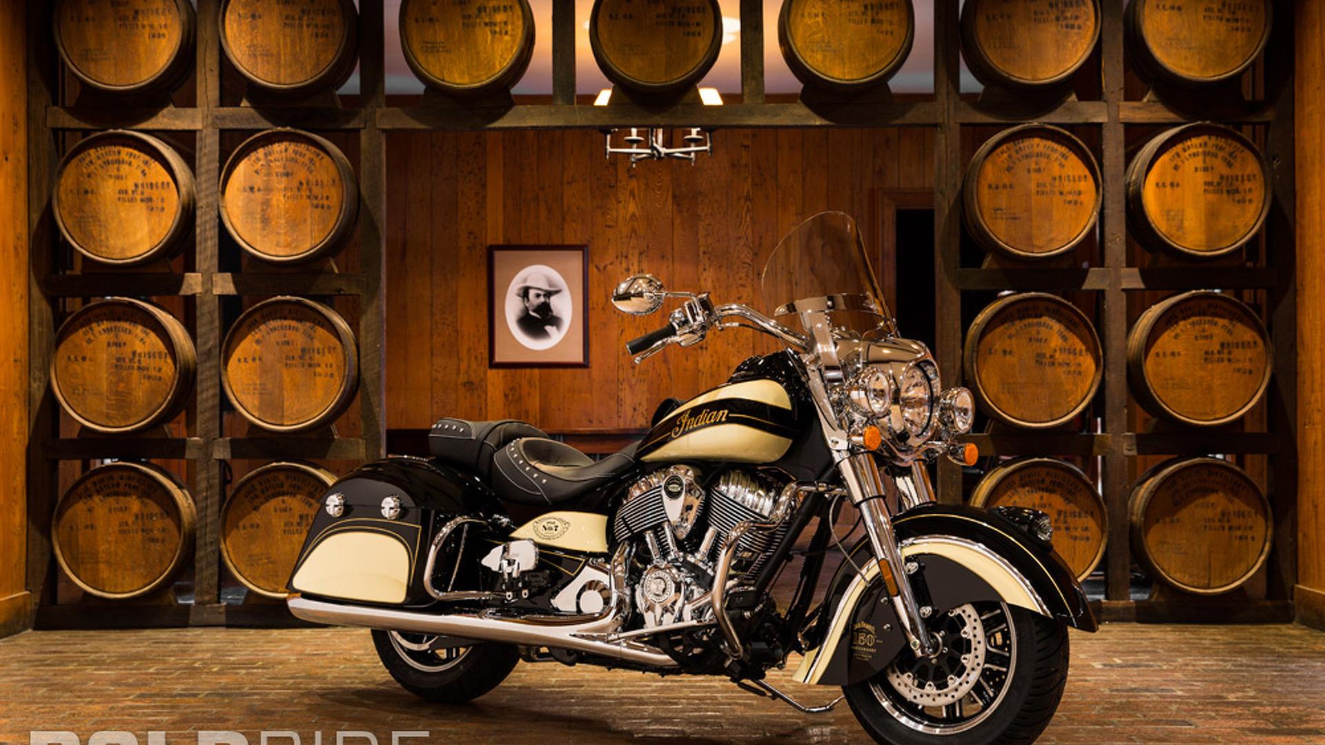 Indian Springfield Jack Daniel's Edition