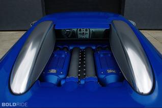 Bugatti Veyron Bleu Centenaire