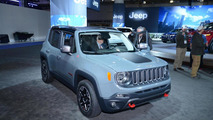 US-Spec Jeep Renegade gets detailed in New York