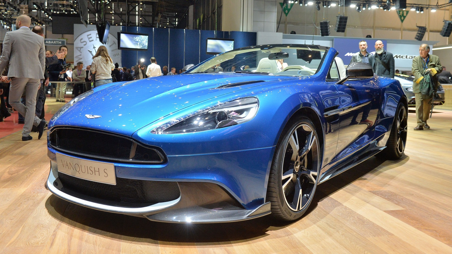 aston martin vanquish s volante beautifies geneva motor show. Black Bedroom Furniture Sets. Home Design Ideas