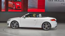 Audi TT Roadster live from Volkswagen's Paris Motor Show preview evening