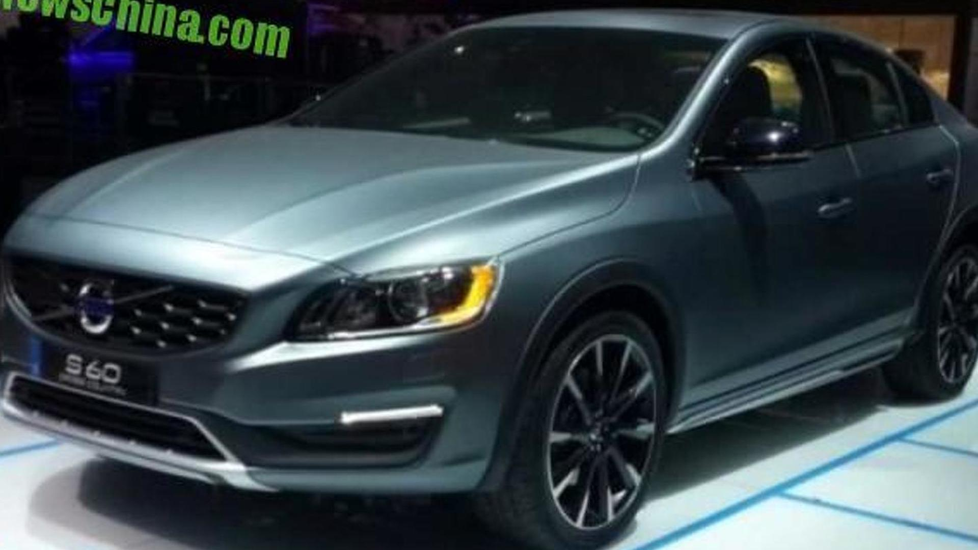 Volvo S60 Cross Country photographed in the metal in Detroit