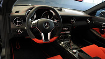 Mercedes showcases a one-off SLK 55 AMG created by the AMG Performance Studio