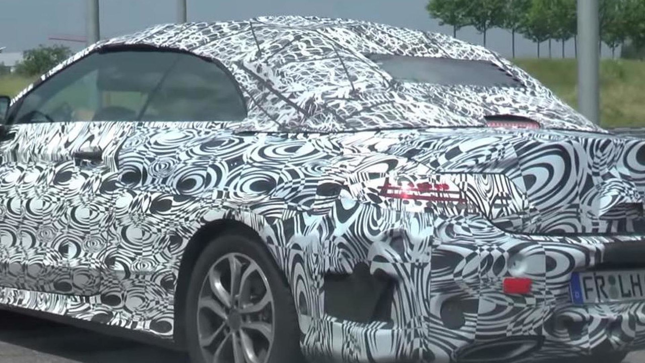 2016 Mercedes-Benz C-Class Cabriolet AMG Line screenshot from spy video
