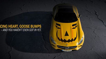 Mercedes-AMG GT gets into the Halloween spirit