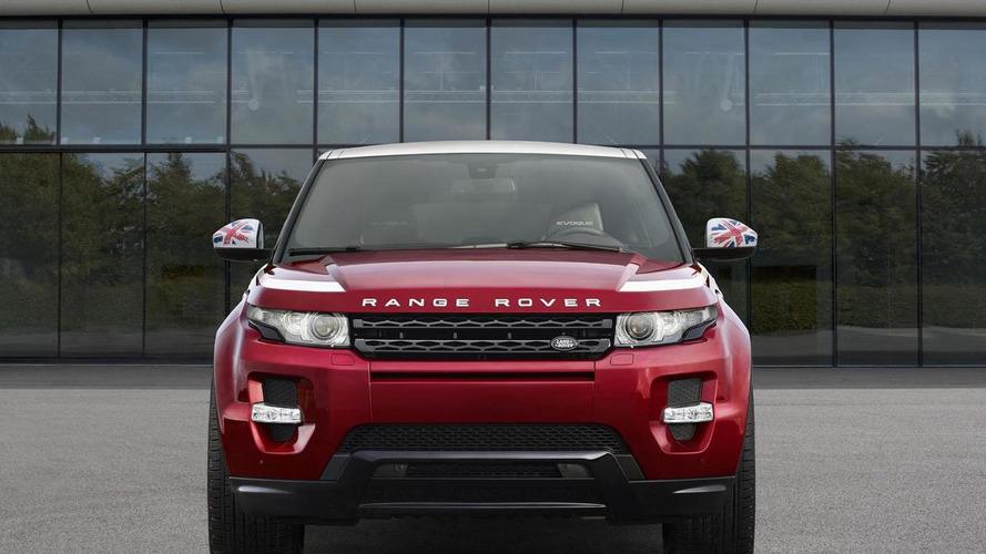 Range Rover Evoque SW1 announced, debuts in Paris